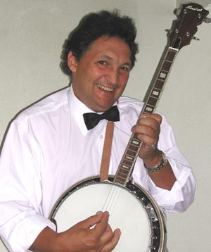 Roger with Tenor Banjo