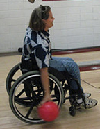 wheelchair bowling